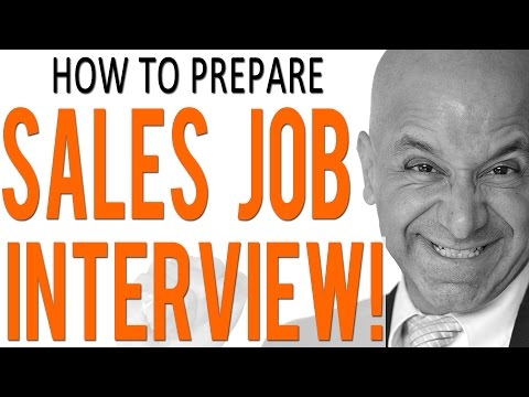 B2B Sales Job Interview Preparation - Five Tips to Get Hired!