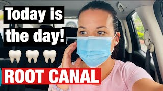 Today is the DAY!!! Root Canal!!!