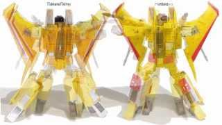 Hasbro Transformers MP 05 Sunstorm Review