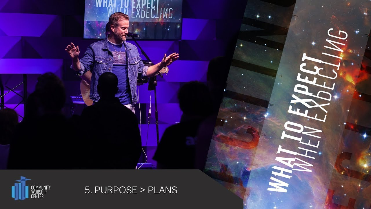 Purpose Is Greater Than Plans