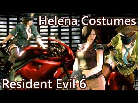 Resident Evil 6 Ada EX3 - all costumes and gameplay by ...