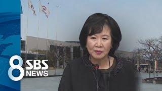"""""""손혜원이 찾아와 인사 추천""""…청탁금지법 위반 소지 / SBS"""