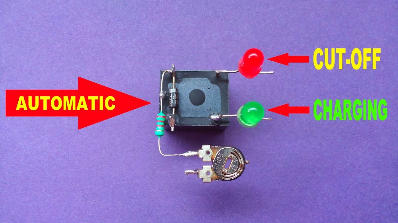 Auto Battery Charger Circuit