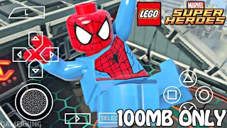 [100MB] Download Lego Marvel Superheroes Highly Compressed For Android 2018