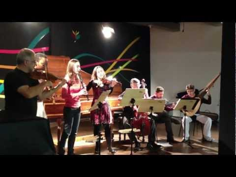 Marin Marais - Pieces en trio - ( Fantasie ) C Major