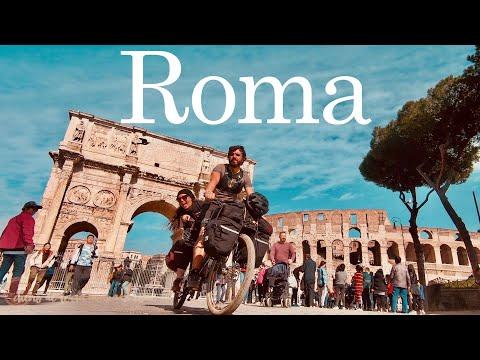 Roma, walking and bicycle tour na cidade eterna   Giro Europa, Ep 13   Itália thumbnail