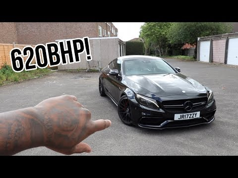 620 BHP MURDERED MERCEDES C63s AMG **MONSTER***