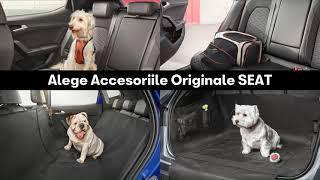 Accesoriile Originale SEAT pentru prietenul tău cel mai bun