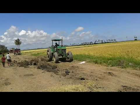 The power of John Deere 6603 on the essequibo coast Guyana