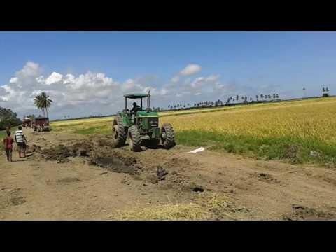 The power of John Deere 6603 on the essequibo coast Guyana