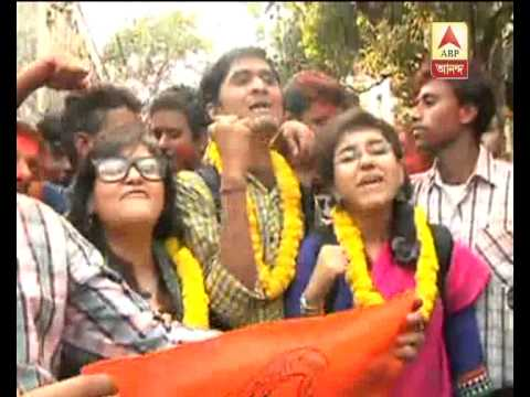 ABVP wins student election in Kolkata