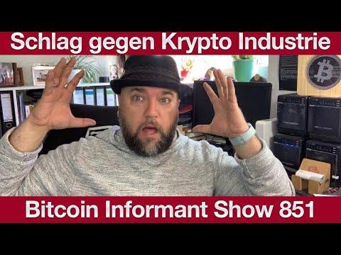 #851 Schlag gegen Krypto Industrie - Sammelklage gegen Tron, EOS, Binance, Bitmex uvm.
