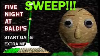 """I WANT TO PLAY WITH SOMEONE!!!   Five """"Night"""" at Baldi's #1"""