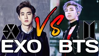 EXO VS BTS/MV