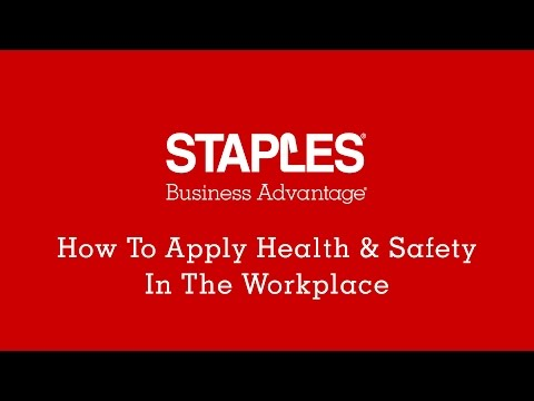 How to apply health and safety in the workplace