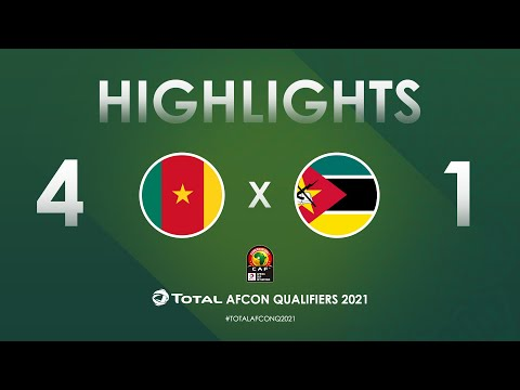 HIGHLIGHTS   Total AFCON Qualifiers 2021   Round 3 - Group F: Cameroon 4-1 Mozambique