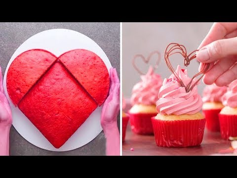 DIY Valentine's Day Treats 2019 | Easy Valentine's Day Cupcakes and Cake Recipe Ideas Mp3