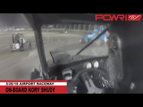5/26/18 Kory Shudy On-Board at Airport Raceway