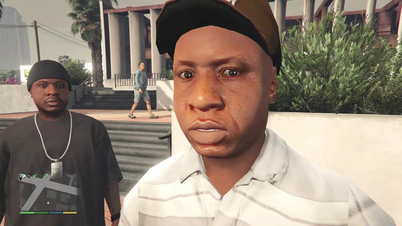Sly Gameplay - GTA 5 - Franklin Balla Grove Street NPC Moments & Car Stunt Gameplay