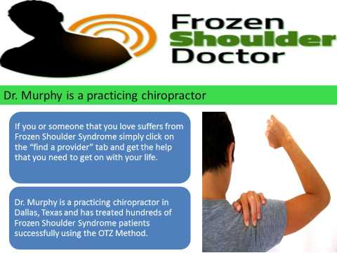 OTZ Health Education Systems Frozen SHoulder CuRe