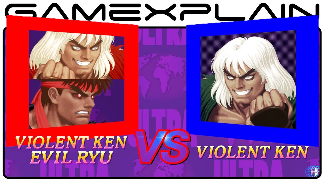 Violent Ken Vs Evil Ryu In Ultra Street Fighter Ii The Final