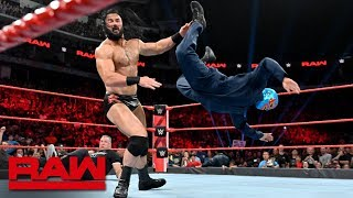"Baixar Roman Reigns & Gary ""The GOAT"" Garbutt vs. Shane McMahon & Drew McIntyre: Raw, July 8, 2019"