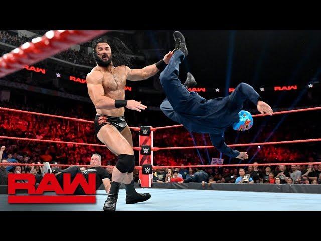 "Roman Reigns & Gary ""The GOAT"" Garbutt vs. Shane McMahon & Drew McIntyre: Raw, July 8, 2019"