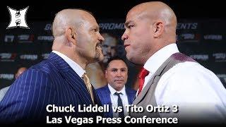 Chuck Liddell vs Tito Ortiz 3 Las Vegas Press Conference (complete / HD)