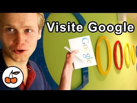 Chez Google Visite Des Bureaux De Google  Formation