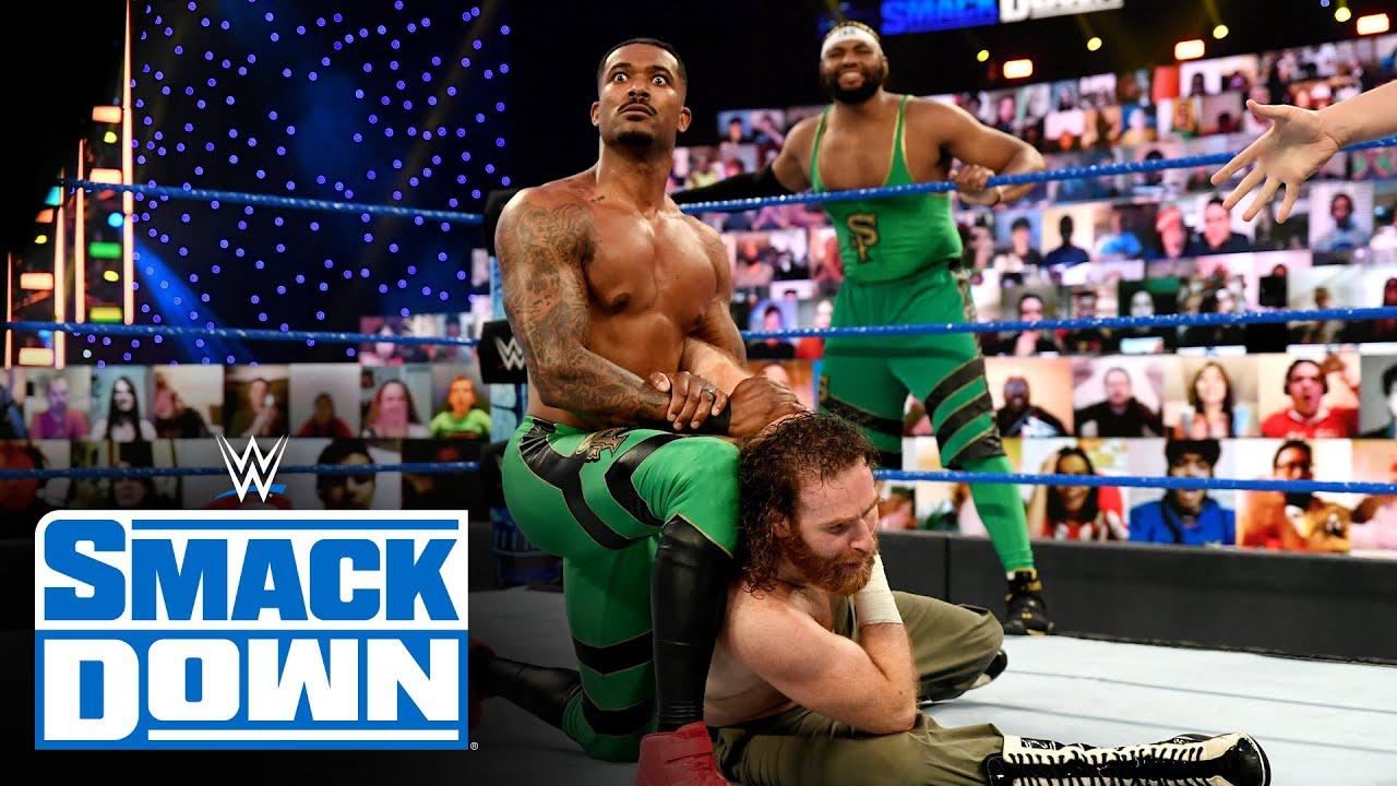 The Street Profits vs. King Corbin & Sami Zayn: SmackDown, Feb. 26, 2021