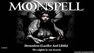 Moonspell - Dreamless (Lucifer And Lilith) [Lyric Video]