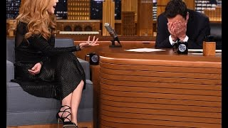 Nicole Kidman tells chat show host Jimmy Fallon he blew his chance to date her during first meeting