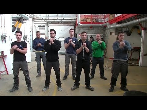 Quentin Robert. France. Muscular warm-ups at work. Youth 18–24
