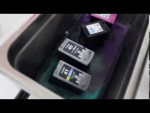 เครื่องล้างหัวพิมพ์ ultrasonic