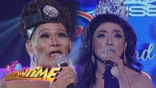 It's Showtime Miss Q & A: Maria Katrina Lopez and Angelika Mapanganib on Beklamation!