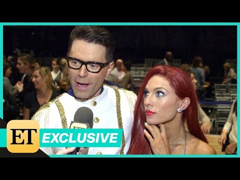 DWTS: Bobby Bones and Sharna Burgess Address Romance Rumors (Exclusive)