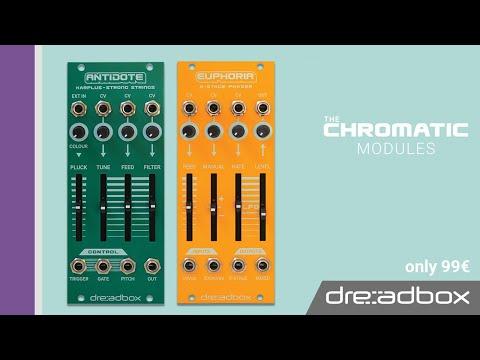 2 New Chromatic Modules by Dreadbox // Antidote & Euphoria