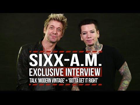 Sixx: A.M. Talk 'Modern Vintage' + 'Gotta Get It Right'