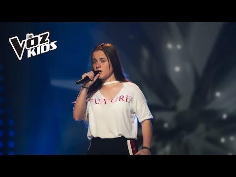 Isabella canta Dígale - Audiciones a ciegas | La Voz Kids Colombia 2018