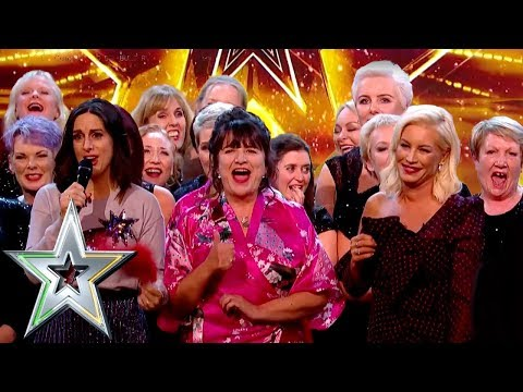 Inspiring cancer survivors choir Sea of Change get GOLDEN BUZZER  Ireland&39;s Got Talent