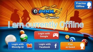 8 Ball Pool Offine Hack!! Play Without Using Coins Offline/single Player![Outdated][Not Working]