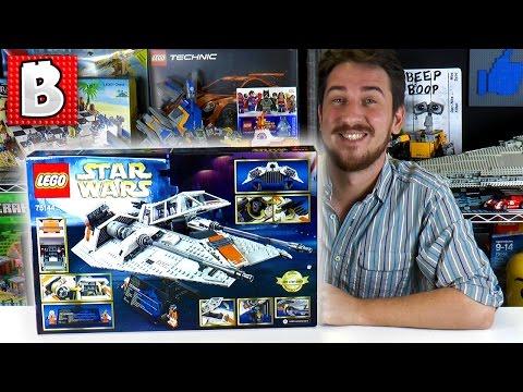 LEGO Snowspeeder Ultimate Collector Series 75144 | LIVE BUILD & Review | BrickVault LIVE