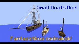 Minecraft: Mod bemutató 9. rész - Small Boats Mod