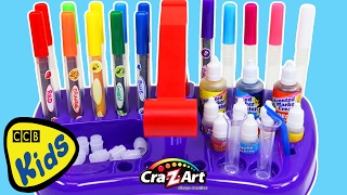 Cra-Z-Art Scented Marker Creator Play Kit Fun & Easy DIY Make Your Own Fruit Scented Markers! | CCB