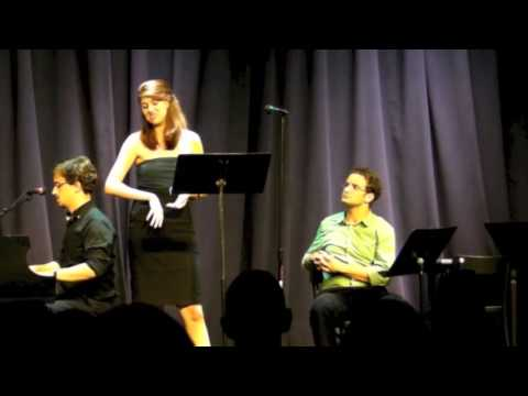 Arjana Andris performing Law School from Neurosis, The Musical (pitch)