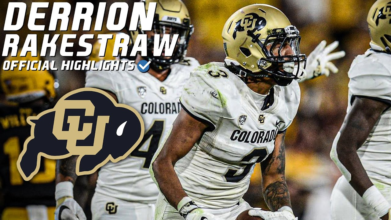 "Derrion Rakestraw Official Colorado Highlights | ""All In"" ᴴᴰ"