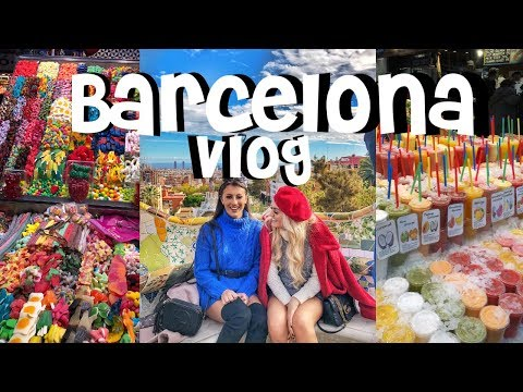 BARCELONA VLOG / Best friends 19th Birthday trip!! // BRB TRAVEL