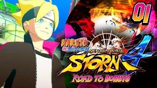 THE NEW ERA!! • Naruto Shippuden Ultimate Ninja Storm 4 ROAD TO BORUTO Gameplay Playthrough • #01