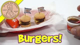 Double Cheeseburger DIY Japanese Kit - Kracie Happy Kitchen Popin