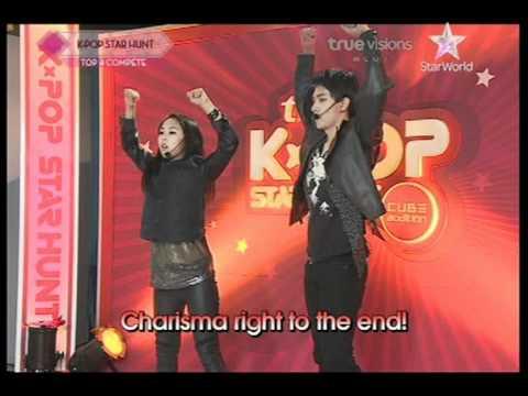 [Thaisub] TVN Kpop Star hunt (EP6) Shock - Rince & Jasmine [3/6]
